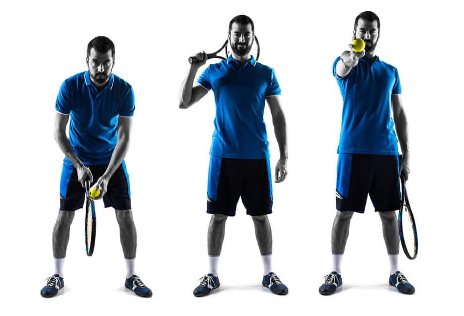Tennis standard position