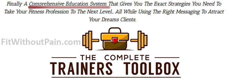 The Complete Trainer Toolbox Comprehensive Education System