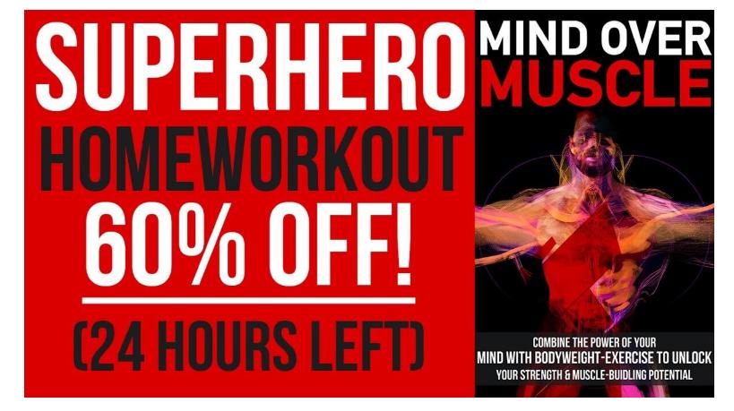 The Superhero Home Workout