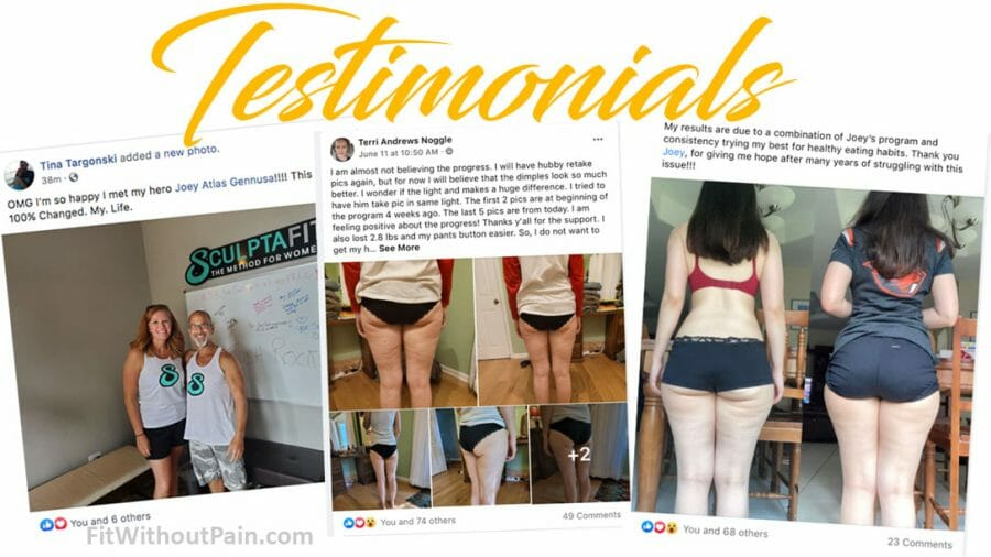 The Truth About Cellulite Testimonials
