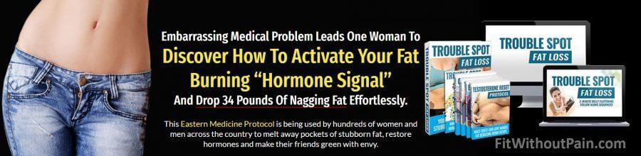 Trouble Spot Fat Activate Fat Burning Hormone Signal