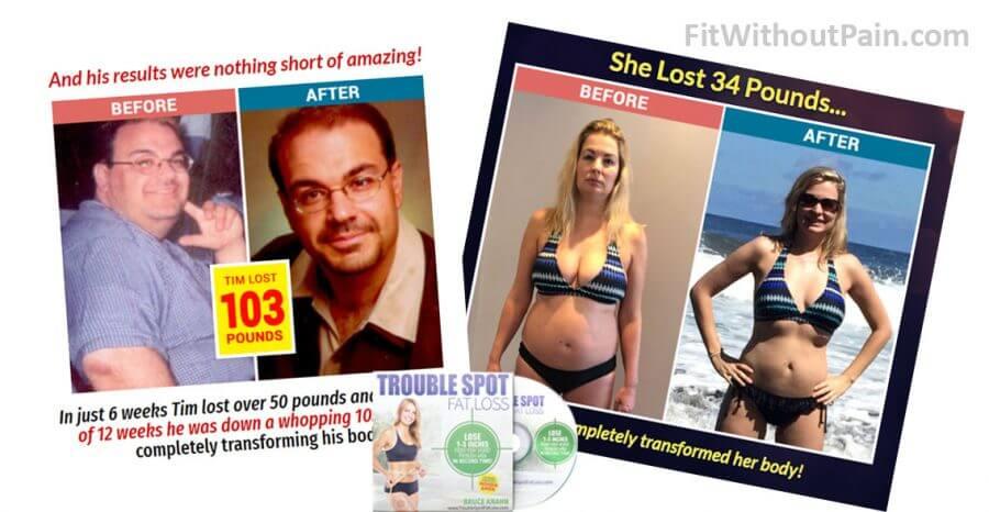 Trouble Spot Fat Loss Transformation