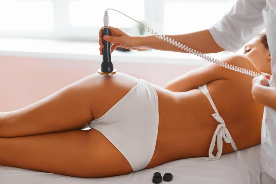 Ultrasound cavitation body contouring treatment
