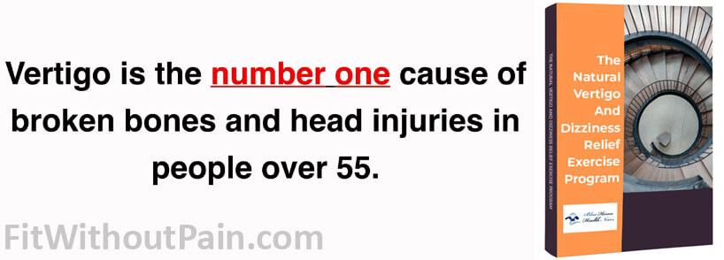 Vertigo and Dizziness Program Number one cause of Broken Bones