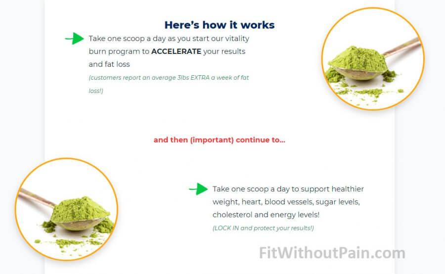 Vitality Burn How it Works