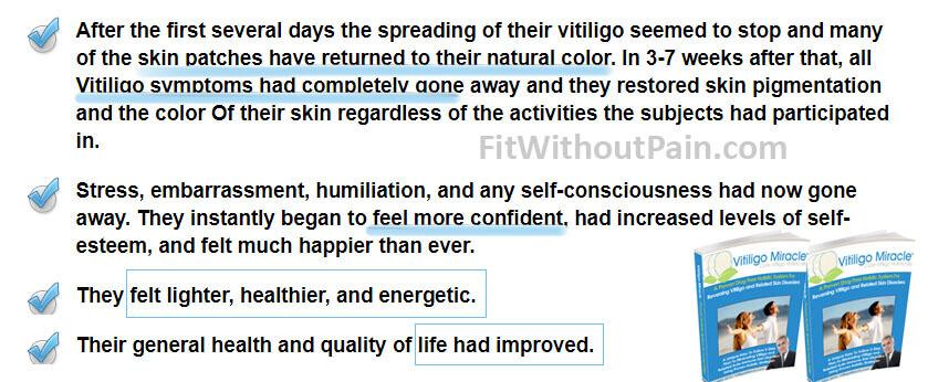 Vitiligo Miracle Benefits