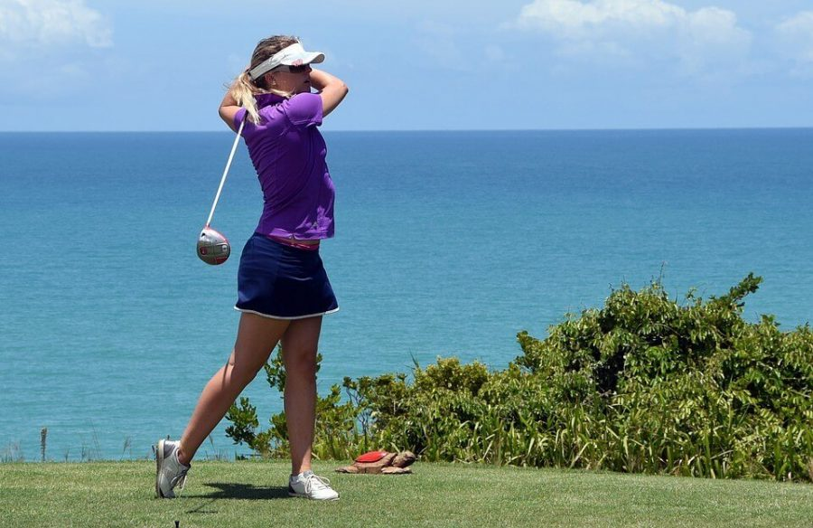 Golf Course Golfer Golf Golf Swing Driver