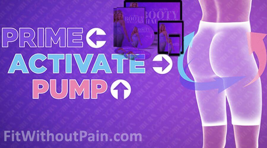 Yoga Burn Booty Challenge Prime, Activate and Pump