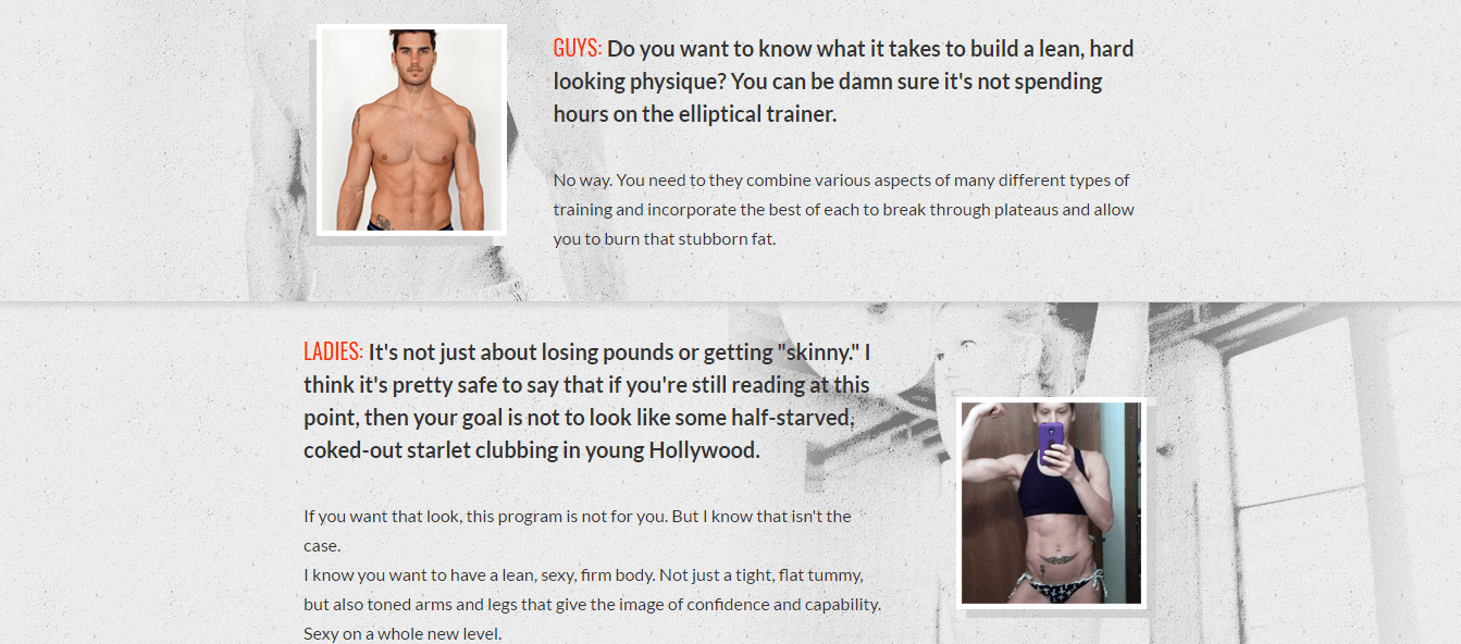 Do you want to know what it takes to build a lean, hard looking physique? You can check this review