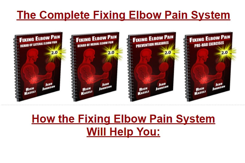 Fixing Elbow pain product