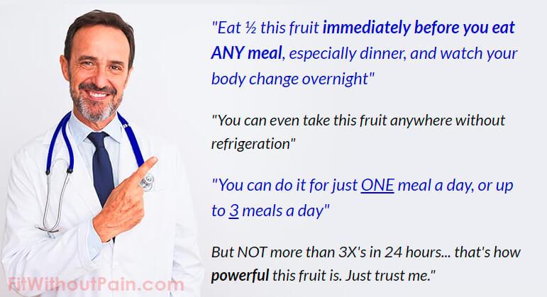 fat disruptor doctor's advice