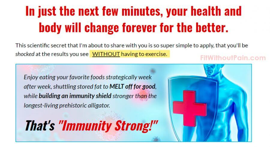 fat disruptor strong Imunnity