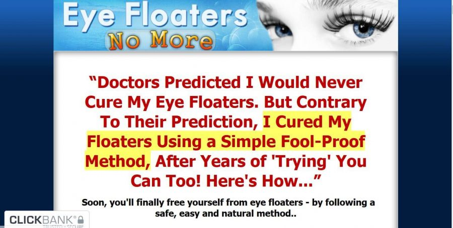 Get rid of your Eye floaters With Eye Floaters No More