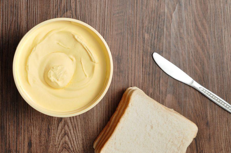 Butter, bread