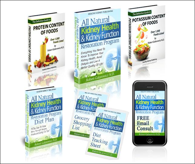 Package to healthy kidneys