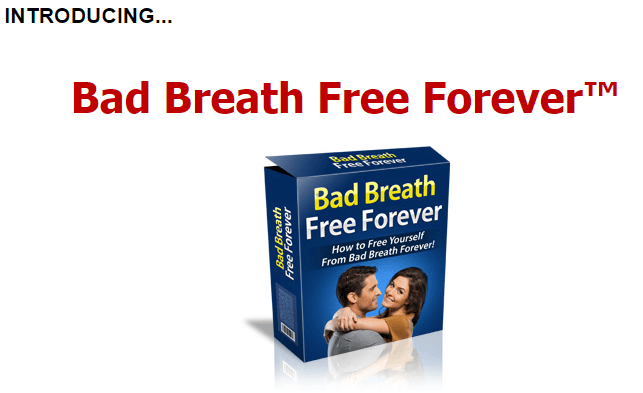 Bad breath free forever - the product