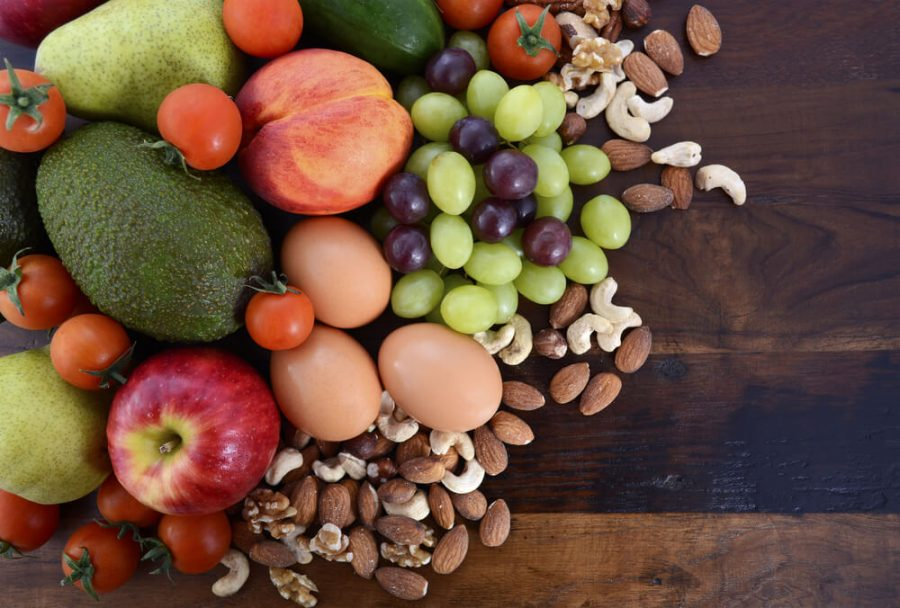 Healthy Diet with fresh fruit