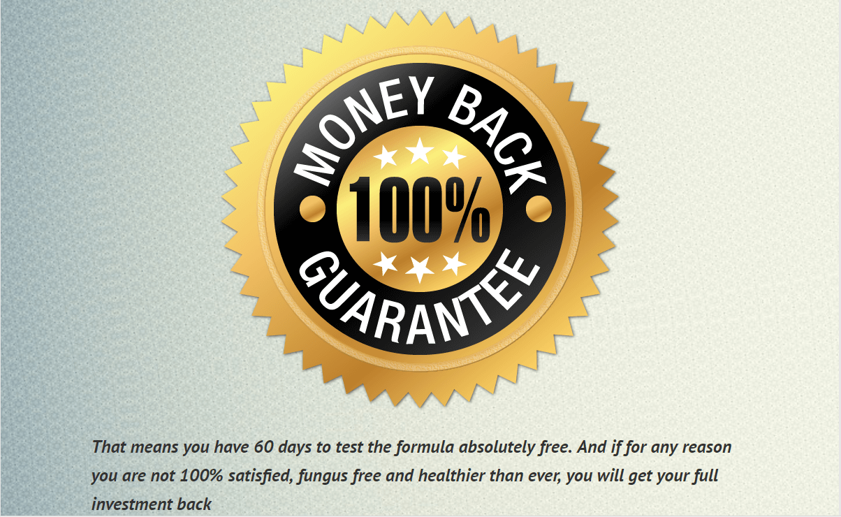 Fungus Key Pro money back