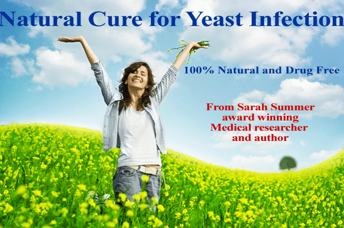 Natural Cure for Yeast Infection Get rid of Candida yeast thrush infection Natural Treatment Home Remedy for yeast infection.png