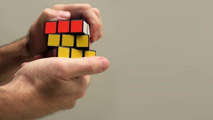 Rubik Puzzle Rubik Cube Game Cube Hand