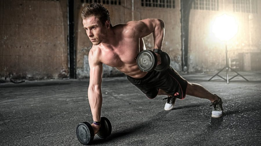 straneous workouts at the gym in an effort to maintain youthful look