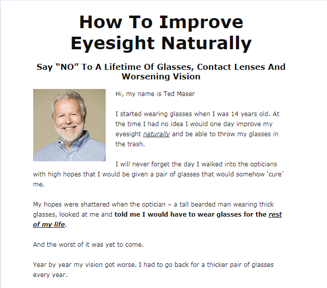 How To Improve Eyesight Naturally in short time period