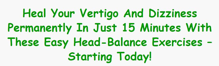 Vertigo And Dizziness Program Review