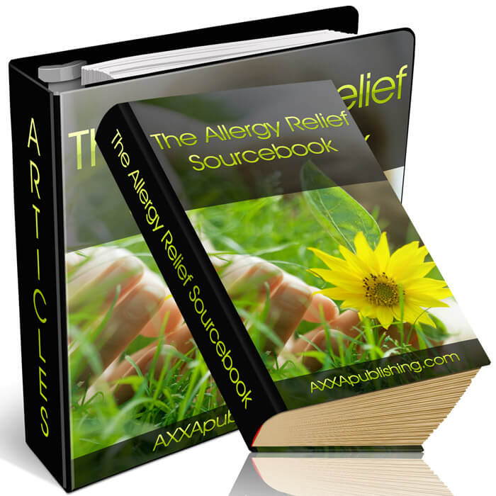 The Allergy Relief Sourcebook - Bonus #3