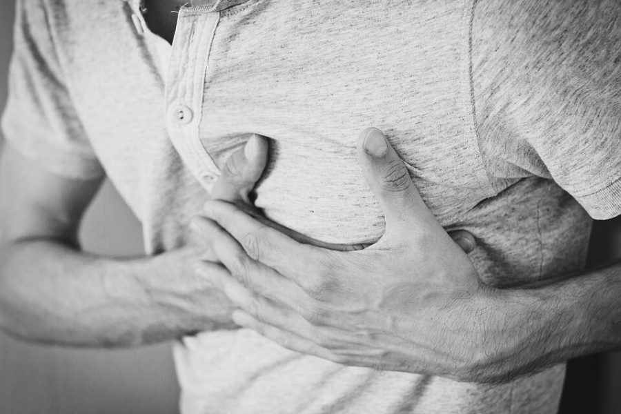 Horrible chest pain after a heartburn