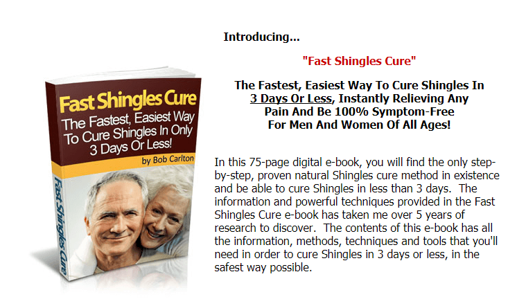cure shingles with fast shingles cure