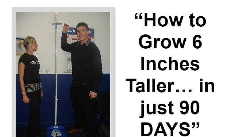 Wish to grow tall, you can achieve this in just 90 days and grow up to 6 inches