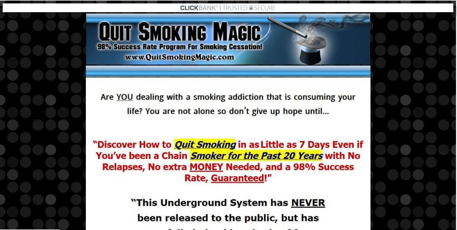 Get rid of the nasty habit with Quit Smoking Magic