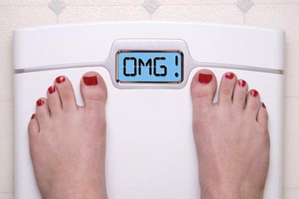 Your weight can go OMG at times!