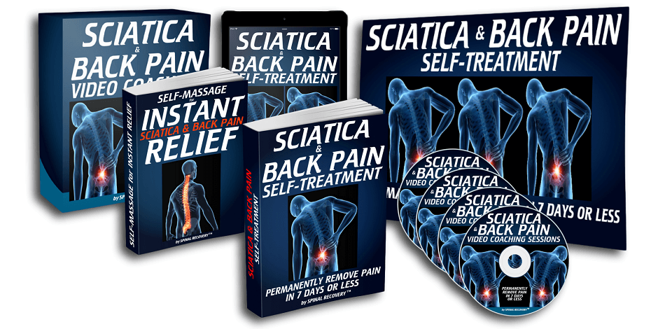 A whole pack of natural wholesome solution against sciatica and back pain for you