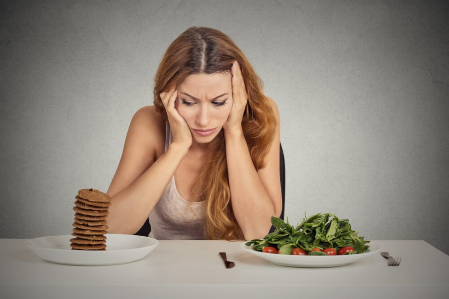 woman tired of diet restrictions