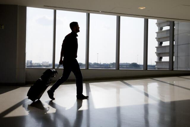 man-travelling