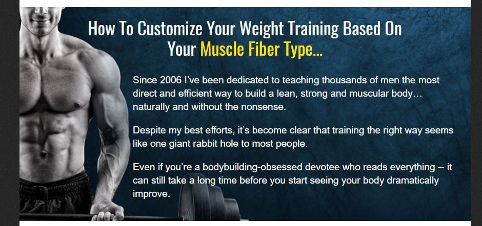 website of no nonsense muscle building 2.0