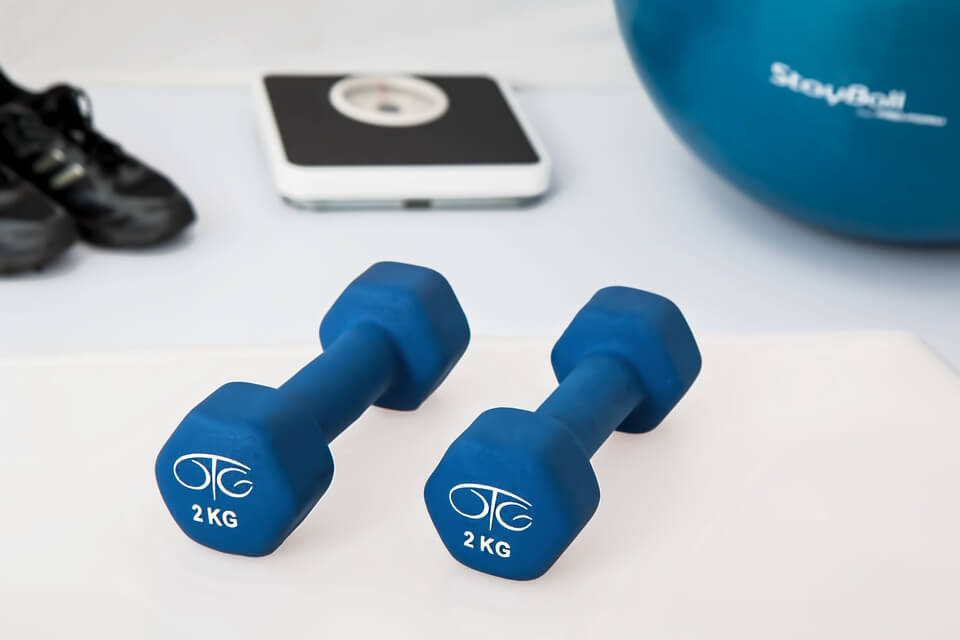 weights to exercise