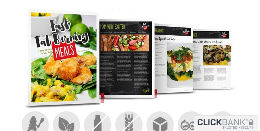 The full package of Fast Fat Burning Meals Cookbook