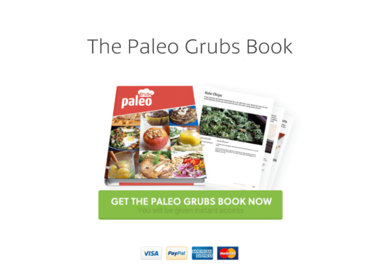 The awesomeness of Paleo Grubs Book within your reach!