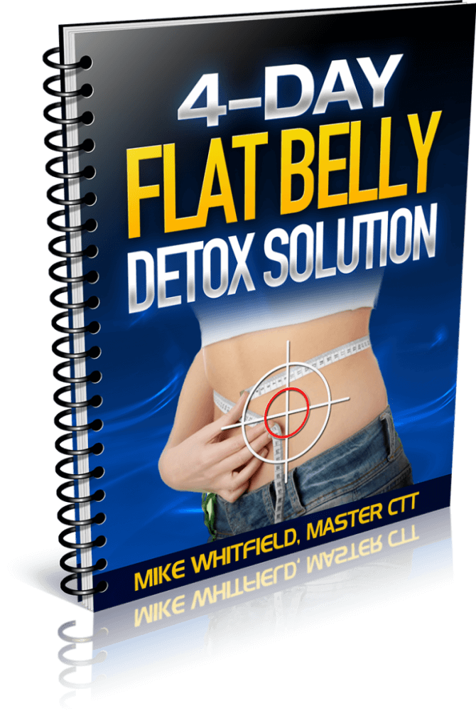 4-Day Flat Belly Detox Solution