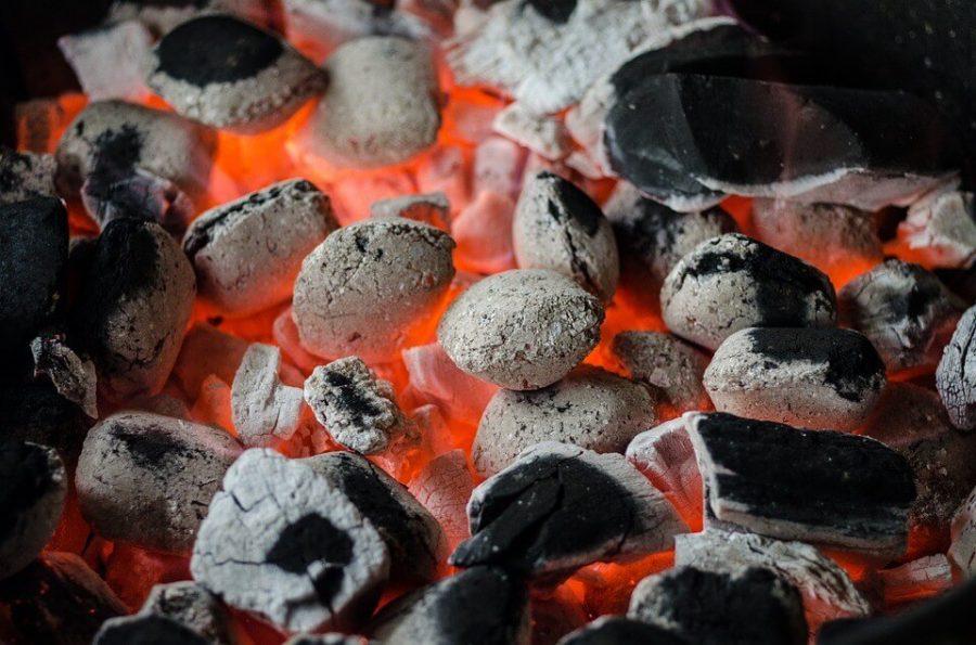 Coal flame