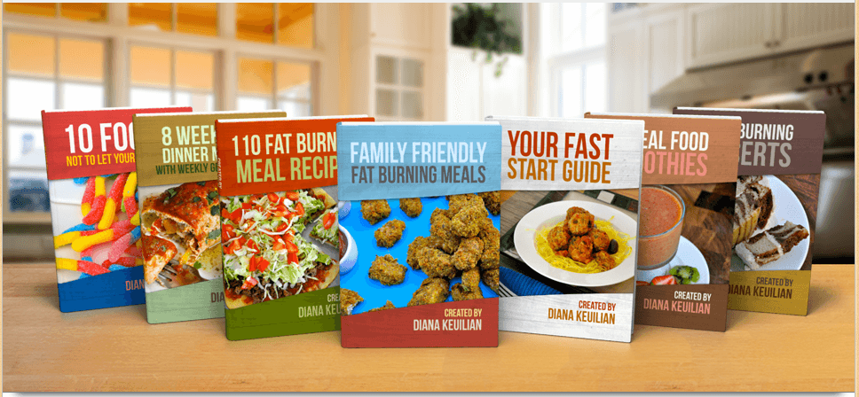 complete family friendy fat burning meals package