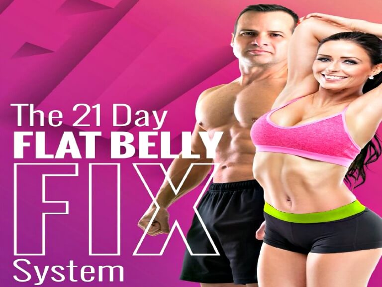 The 21-Day Flat Belly Fix