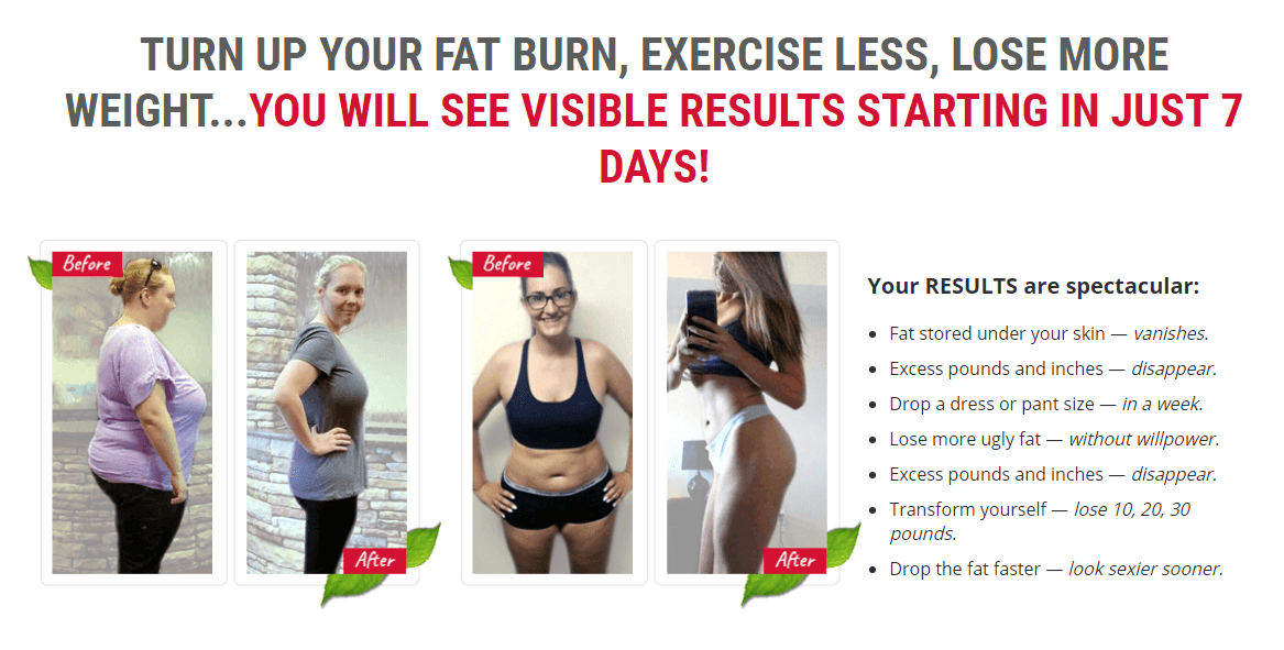fat burning feedback