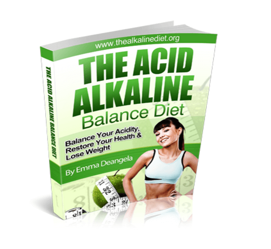 The acidic alkeline balanced diet