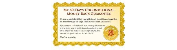 100% double money back guarantee