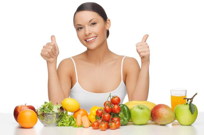 Eat a well balanced diet