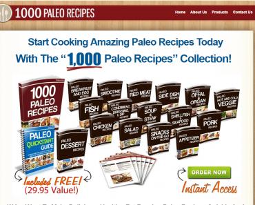 1000 Paleo Recipes Review: How To Never Run Out Of Paleo Recipes