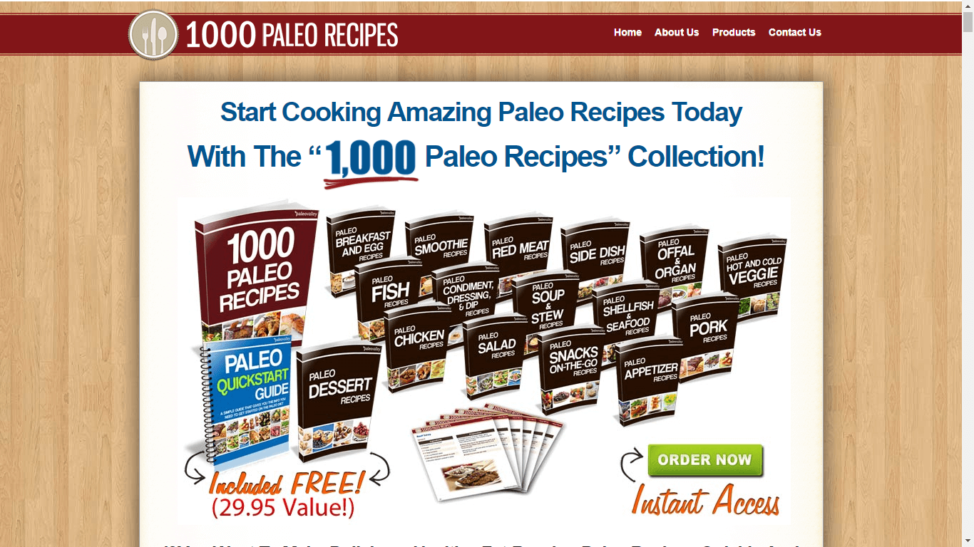 The 1000 Paleo Recipes